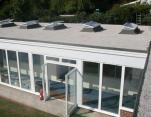 flat roofing, curtain walling and skylights
